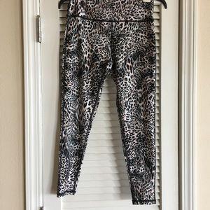 Betsey Johnson Animal Print Leggings Cheetah Print